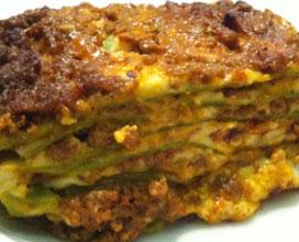 Ricetta Lasagne Verdi Alla Bolognese.Lasagne Verdi Alla Bolognese Ricette Regionali
